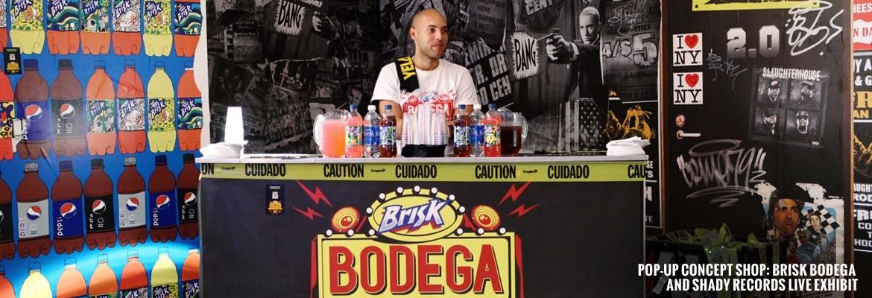 Pop-Up Concept Shop: BRISK Bodega