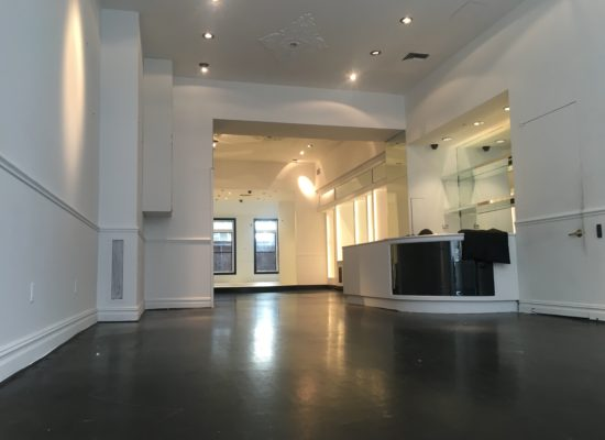 SOHO | GREENE STREET MULTI LEVEL POP UP SHOWROOM & GALLERY | 9100 SF